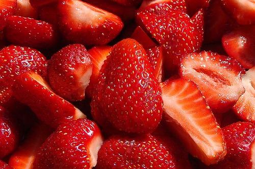Las fresas engordan