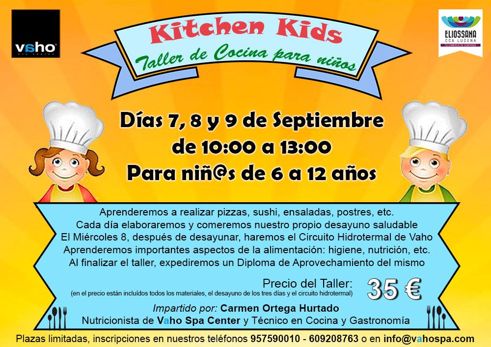 Curso Cocina Para Niños | Kitchen Kids Taller De Cocina Para Ninos Vaho Spa Center